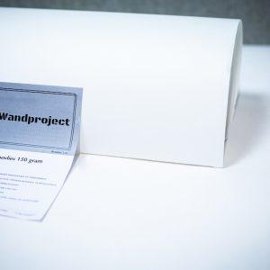 Renovliesbehang, webshop wandproject