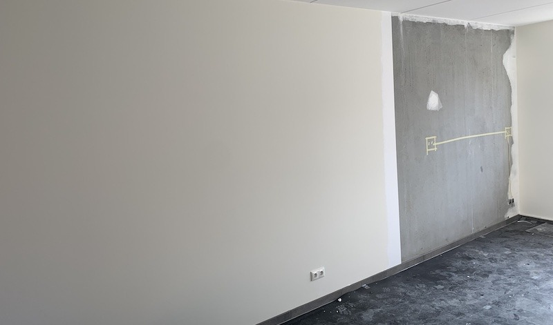 Renovliesbehang, Wandproject